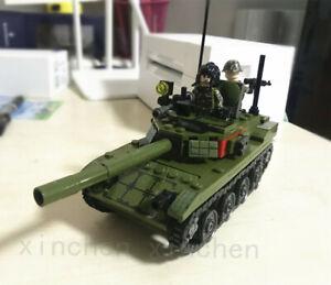 324pcs Sembo Block Type 85 Tank Model Kids Building Toys Boys Puzzle Gift
