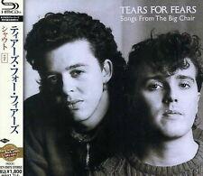 TEARS FOR FEARS-SONGS FROM THE BIG CHAIR +7-JAPAN SHM-CD BONUS TRACK D50