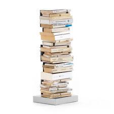 OPINION CIATTI libreria PTOLOMEO PT75 bianca con base inox DESIGN RAINALDI