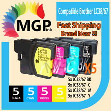 20xcompatible Ink for Brother LC38 LC67 MFC990CW MFC5490CN 5890CN 250C