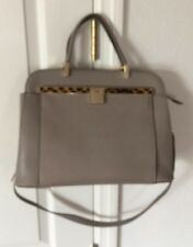 Ivanka Trump Gray Shoulder Bag Purse