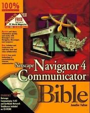 Netscape Navigator 4 and Communicator Bible by Jennifer Fulton