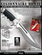 United Cutlery GH5037  Black Micarta The Expendables 2 Legionnaire Bowie Knife