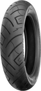 100/90-19 F777 61H All Black Reinforced Front Tire Shinko 87-4587