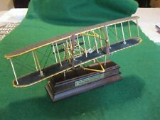 """""""The Wright Flyer"""" Model of First Airplane: by Franklin Mint"""