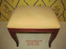 Ethan Allen Country Colors Cranberry Red Vanity or Sofa Table Bench 14 9403