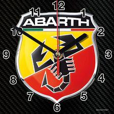 HORLOGE MURALE Logo ABARTH -01M