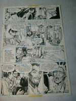 WITCHING HOUR #70 original art, DEAD SKIN PATCHWORK FACE LIFT, 1977!!