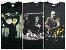Lot of 3 different Sting tour Large concert T-Shirts police