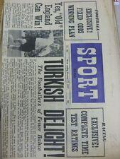17/10/1953 GIORNALE Lo Sport: Vol.15, No.301 - Chelsea Team Group [copertina anteriore], F