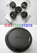 5pcs Rear lens cap cover for Olympus OM manual SLR mount lens Wholesale lots 5x
