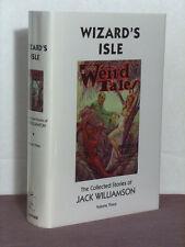 1st,signed by 3(JW,Bradbury,SH),Collected Jack Williamson 3:Wizards Isle,Haffner