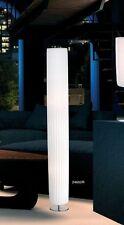 Lampadaire Lampe sur pied Borne lumineuse Lampe de salon Métal/Tissu Blanc 40769