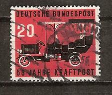 WEST GERMANY # 728 Used 1906 POSTAL AUTO BUS