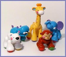 Fisher-Price Amazing Click & Clack  Zoo Jungle animals with 2 talkers L@@K