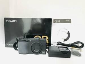 [Fast Neu W / Box] Ricoh Gr Digital II 10.1MP Digitalkamera Schwarz Aus Japan #2