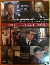 Without a Trace - The Complete First Season (DVD, 2004, 4-Disc Set)