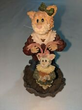 Boyds Bears Resin Momma Purrsley & Claudia Finishing Touches 371010