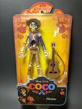 """Disney Pixar Coco Hector 6"""" 1/12 Scale Skeleton Mexican Cowboy W/Guitar Catrin"""