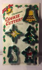 New Christmas Cookie Cutters by Hartin Bell, Star, Angel, Santa, Christmas Tree