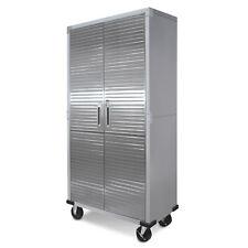 "Ultrahd® 72"" Tall 2-Door Rolling Storage Cabinet, 36"" W X 18"" D X 72"" H Gray"