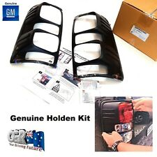 RG Colorado Tail Light Lamp Cover Kit Surrounds Sports Genuine Holden 92509677