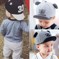 Cute Baby Boy Cap Embroidery Number Baseball Cap Summer Autumn Children Sun Hat