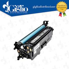 TONER HP COLOR LASERJET CP3525 CM3530 CANON LBP7750C CE250A NERO 5000PAG COMPA