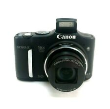 Canon Powershot SX160 IS Black Digital Camera Camera Only Tested It Works Great
