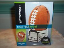 Emerson ~ Stress Relief Football ~ Football Theme w/ Helmet Stand ~ NEW!