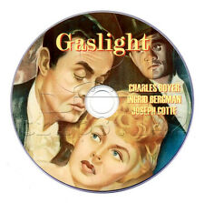 Gaslight (1944) DVD Crime Mystery Thriller Movie (Ingrid Bergman, Charles Boyer)