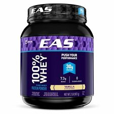 EAS 100% Pure Whey Protein Powder, Vanilla, 2lb Packaging May Vary