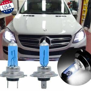 For Mercedes-Benz GL450 S550 CL600 Super Bright White H7 Halogen Headlight Bulbs