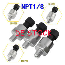 1/8 NPT Druckaufnehmer Drucksensor Analogausgang 0.5v-4.5v für Wasser Öl Luft DE