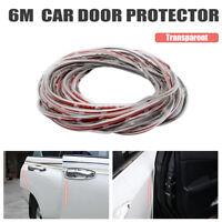 6m U Shape Car Door Edge Weather Rubber Seal Strip Guard Mold Trim Protector DIY