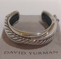 David Yurman Bracelet Cuff Bangle Sterling Silver 925 Rope Cable Design