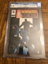Shadowman #8 CGC 9.8, 1st appearance of Master Darque!!