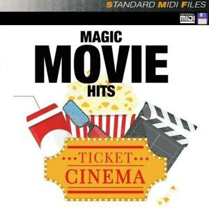 Magic Movie Hits - Pro MIDI File Disk or USB Stick