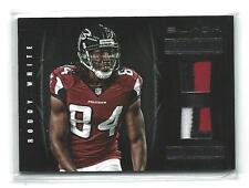 2012 Panini Black NFL Equipment #12 Roddy White DUAL PATCH Falcons /49