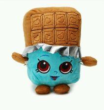 "Season 1 Rare Shopkins Cheeky Chocolate Character Kids Plush Ages 3"" 5.5"" NEW!"