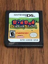 Dig Dug: Digging Strike (Nintendo DS, 2005) Cart Only!