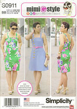 Simplicity S0911 Mimi G Style Summer Dress Sewing Pattern Size 20W-28W