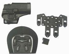 FONDINA SOFTAIR RIGIDA SERPA CQC PLUS NERO GLOCK 17 18 HGL-B  airsoft holster