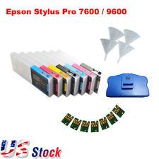 US - Combo Epson Stylus Pro 7600 / 9600 Refill Ink Cartridges 7pcs / set - Kit