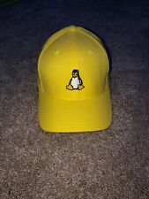 Yellow Penguin Baseball Hat (Linux Logo)-BRAND NEW (without tags)