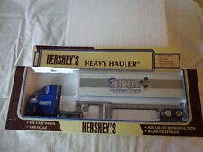 K-LINE 1/48 SCALE HERSEY'S HEAVY HAULER  CAB OVER TRACTOR AND CONTAINER TRAILER