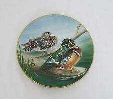 The Danbury Mint Vintage Collectable plates - Waterbird plates - Wood Duck