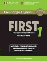 Cambridge English First 1 With Answers : Authentic Examination Papers from Ca...