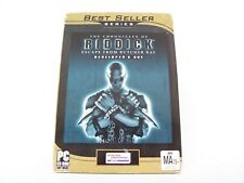 The Chronicles Of Riddick Escape For Butcher Bay Pc Game Vivendi