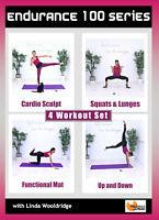 Interval Exercise DVD - Barlates Body Blitz Endurance 100 SERIES - 4 Workouts